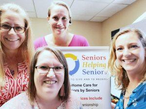 Seniors Helping Seniors Office Staff